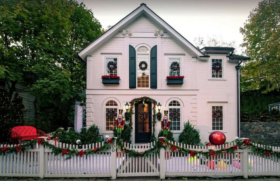 "Vrbo's ""It's a Wonderful Lifetime"" Holiday House vacation rental is located in Greenwich. Fans can book an overnight stay at the home. Photo: Contributed Vrbo"