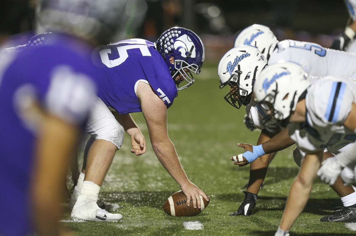 General action between the Angleton Wildcats and the Paetow Panther in the second quarter on November 20, 2020 at Angleton Wildcat Stadium in Angleton, TX.
