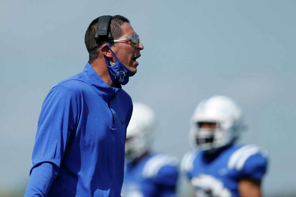 Clear Springs head football coach Craig Dailey led the Chargers to an unbeaten district championship.