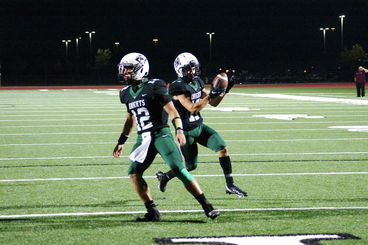 Clear Falls clinched a playoff berth with its 42-7 win over Brazoswood Friday night.