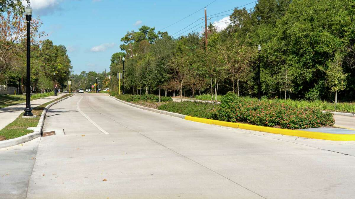 The ribbon cutting of the new Champions Drive upgrades from FM 1960 to Cypress Creek, held Nov. 19, celebrated the new drainage features and smooth pavement completed in time for the 2020 U.S. Women's Open Golf Tournament from Dec. 10-13.