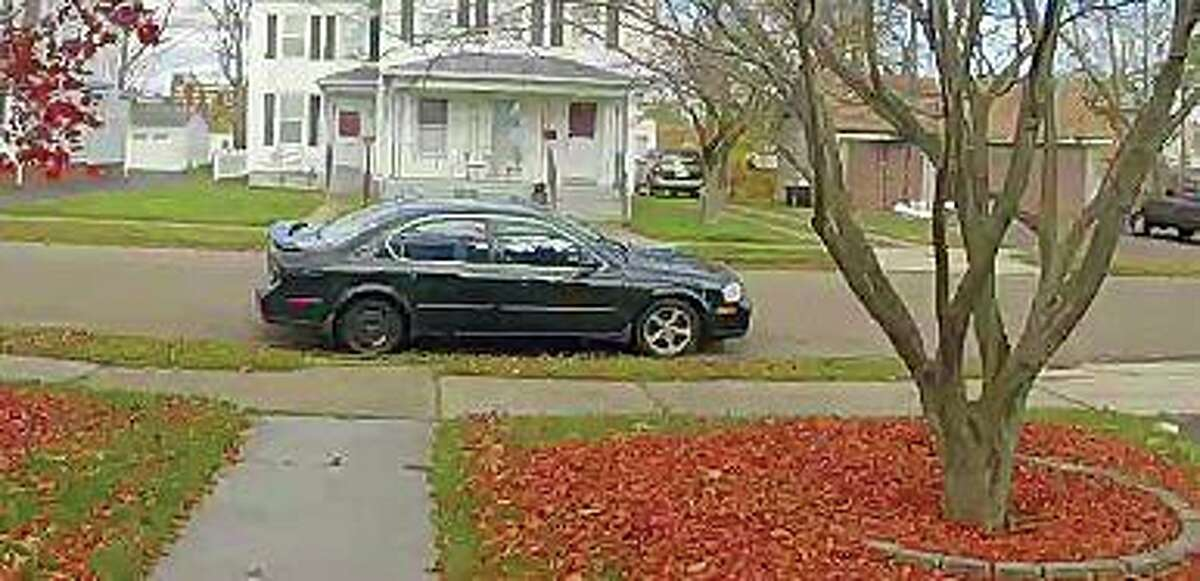East Haven police are asking the public's help in identifying a woman suspected of stealing packages from several houses on Thursday, Nov. 19, 2020 Capt. Joseph M. Murgo said. The suspect was captured on video surveillance pulling up to houses in an early 2000s black or dark gray Nissan Maxima with a right rear spare tire