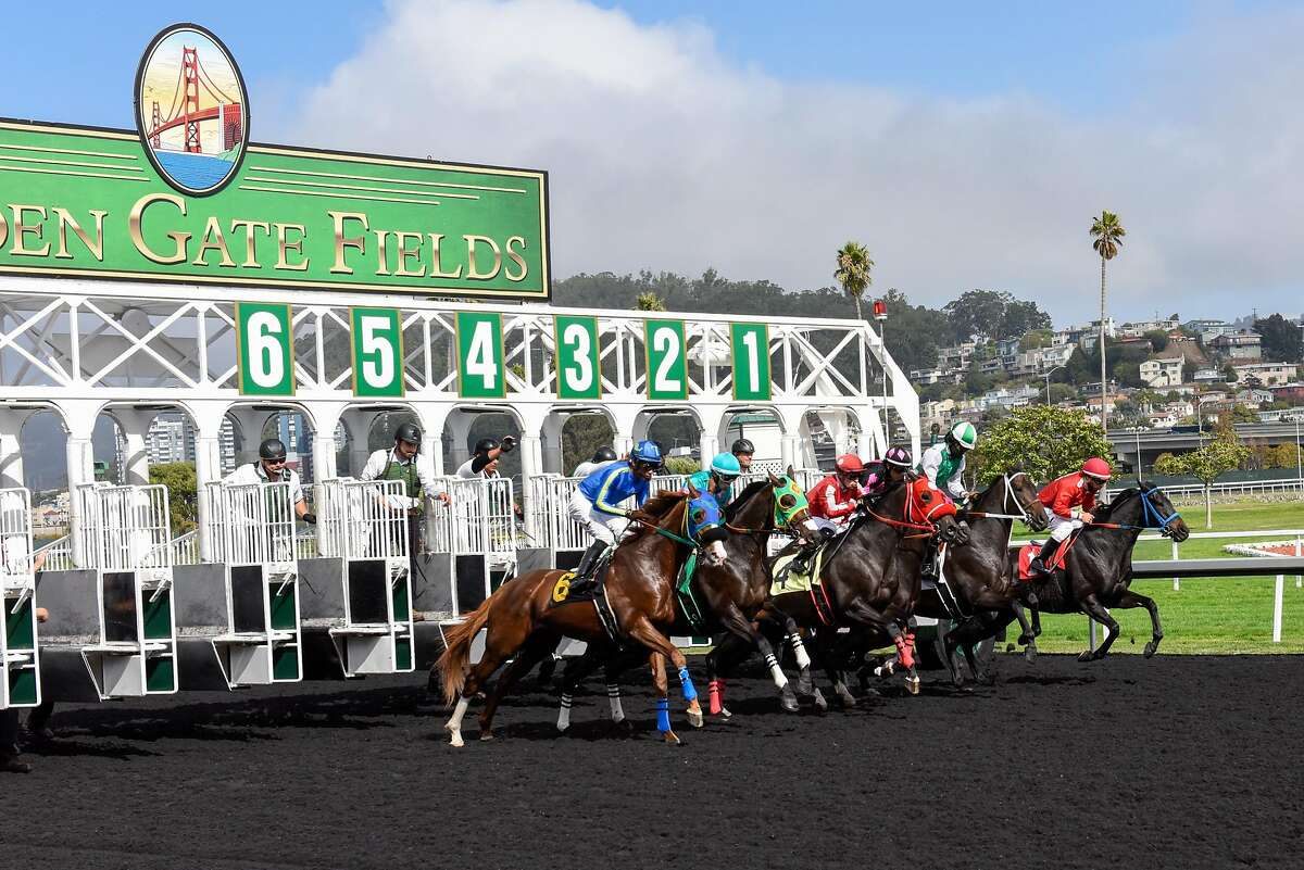 More than 200 people who live or work at Golden Gate Fields in Albany, shown last year, have tested positive for the coronavirus.