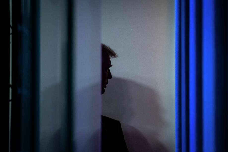 President Trump, seen Friday at the White House, continues to assert without providing evidence, including in multiple lawsuits that have been dismissed around the country, that Joe Biden's election win was gained by widespread fraud and that he, Trump, is in fact the victor. Photo: Washington Post Photo By Jabin Botsford / The Washington Post
