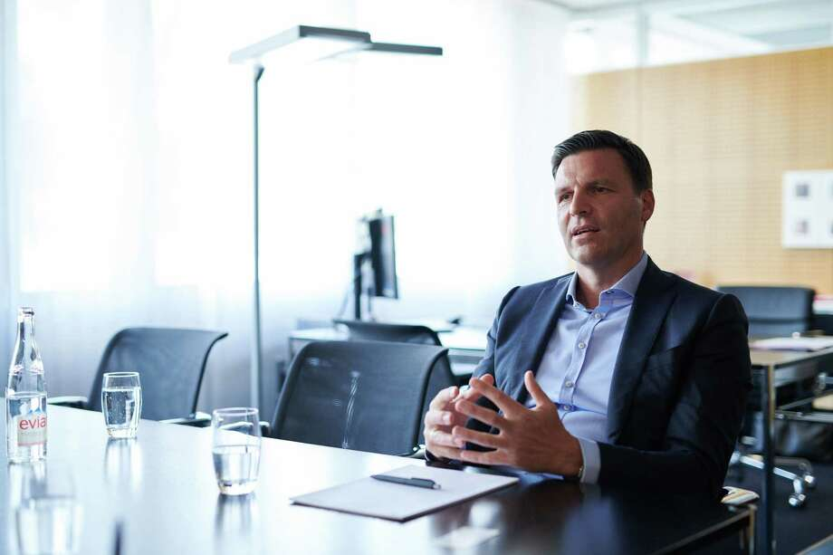 Stefan Brandl, chief executive officer of EBM-Papst, during an interview at the company's headquarters in Mulfingen, Germany, on May 15, 2018. Photo: Bloomberg Photo By Dominik Osswald. / © 2018 Bloomberg Finance LP