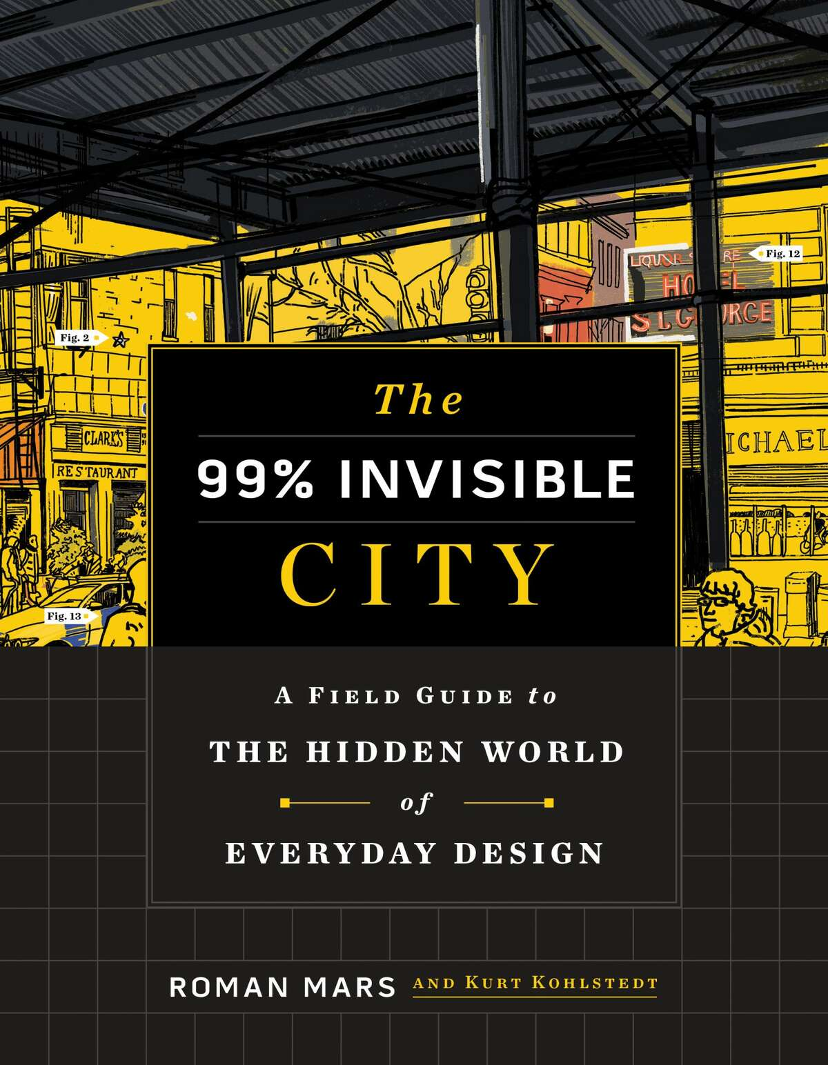 Roman Mars is the co-author of The 99% Invisible City: A Field Guide to the Hidden World of Everyday Design.