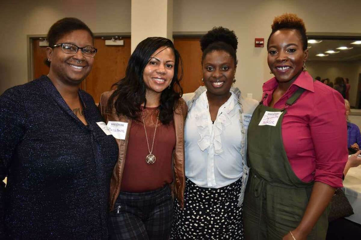 Nearly 100 people came to Women@ Work's Fall 2017 Summit: Ideas Into Action event.