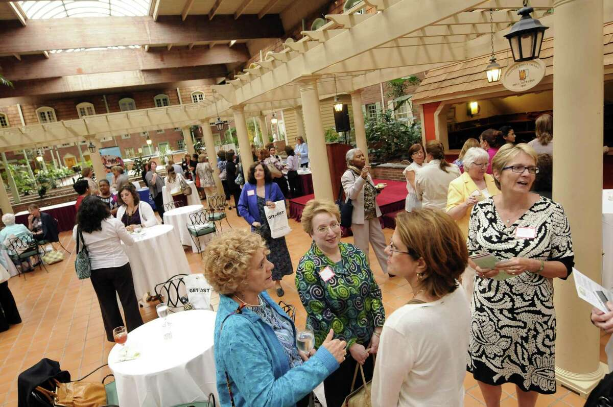 Women@Work Connect put on by Women@Work magazine at the Desmond in Colonie N.Y. Tuesday June 26, 2012. (Michael P. Farrell/Times Union)