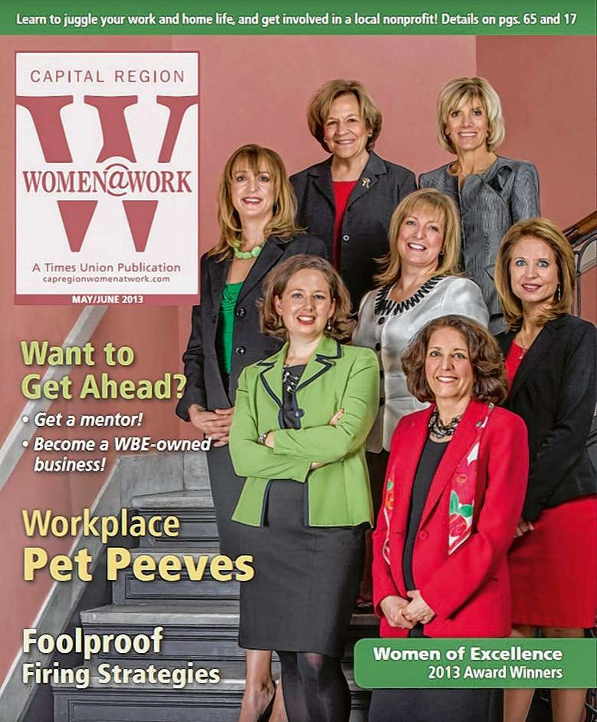 Women@Work cover from May/June 2013.