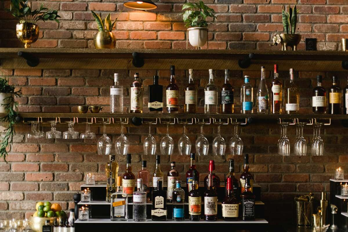 Behind the bar at The Nest in Schenectady, a sibling of The Cuckoo's Nest in Albany. (Elario Photography for The Nest.)