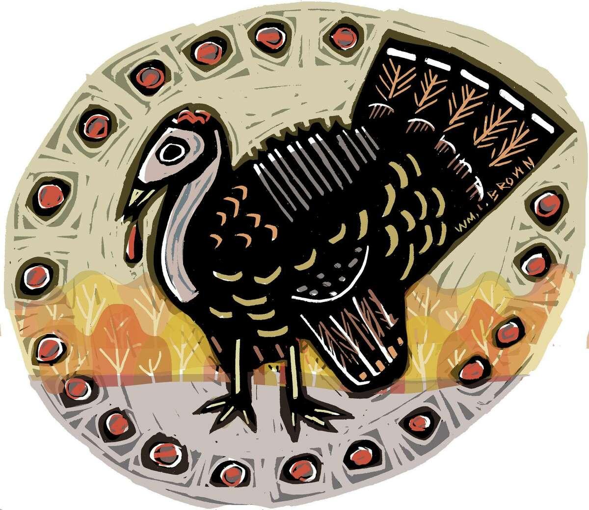 Illustration for Thanksgiving column