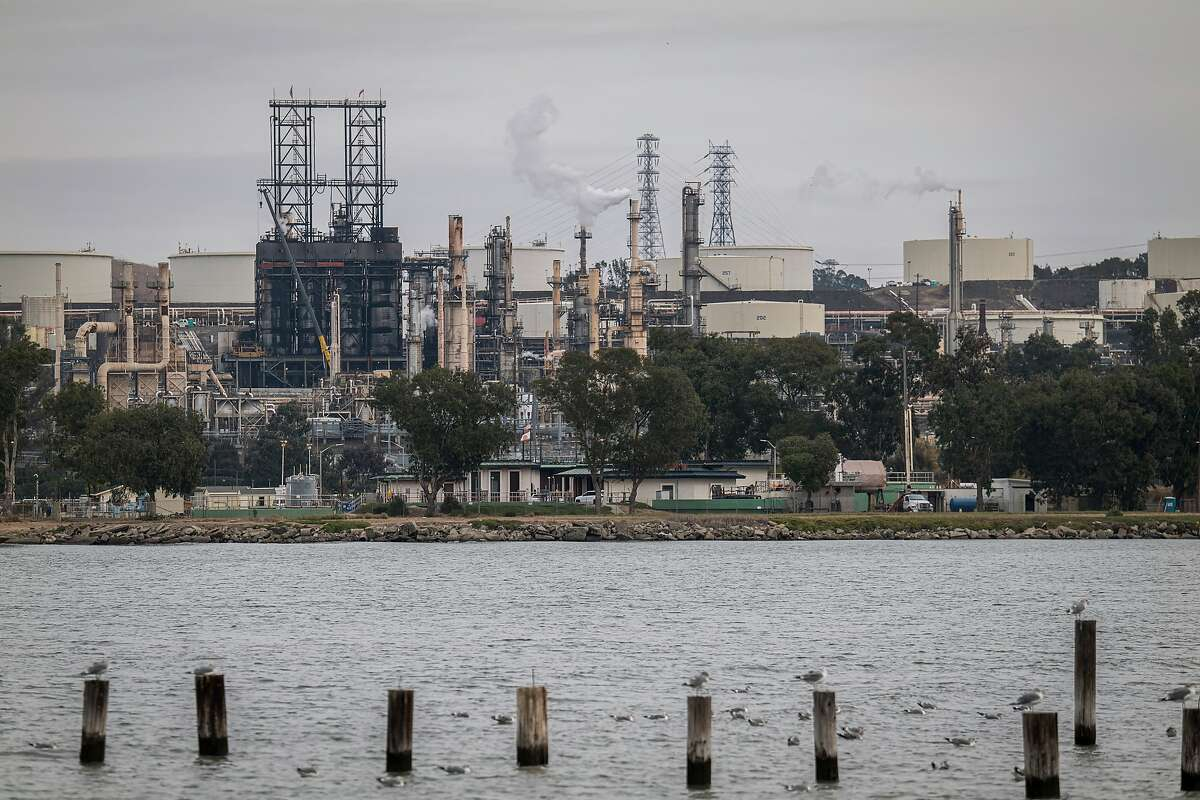 A Phillips 66 refinery in Rodeo, California. The energy group of stocks, which includes oil majors like Exxon Mobil and refiners like Phillips 66, has advanced 30 percent, beating out more expensive sectors in the benchmark like technology.