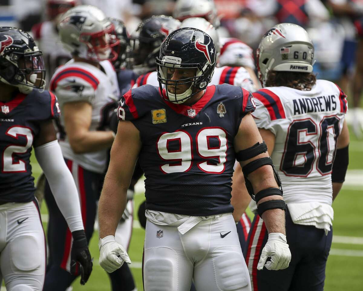The Texans and J.J. Watt face tough questions over his future in Houston.