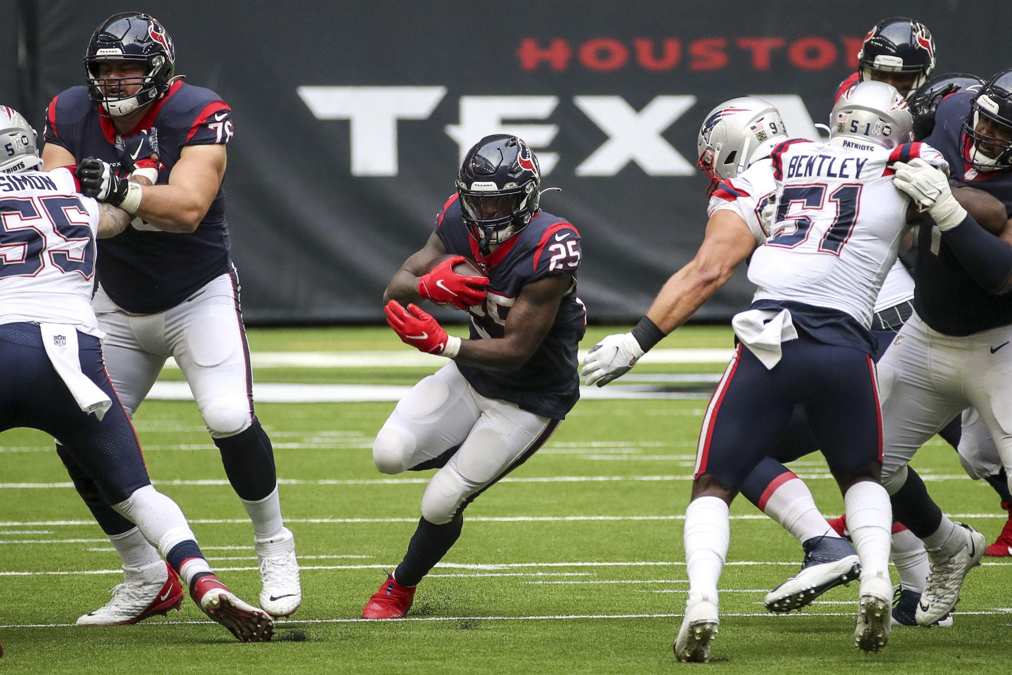 Texans' running game struggles worsening