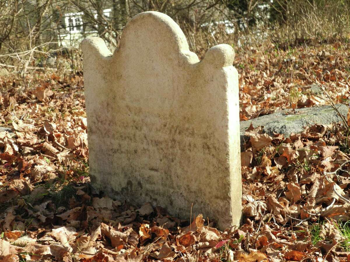 Although difficult to read, Samuel Middlebrook's tombstone in Comstock Cemetery says in part: Samuel Middlebrook, died Aug. 21, 1811, age 67 years.
