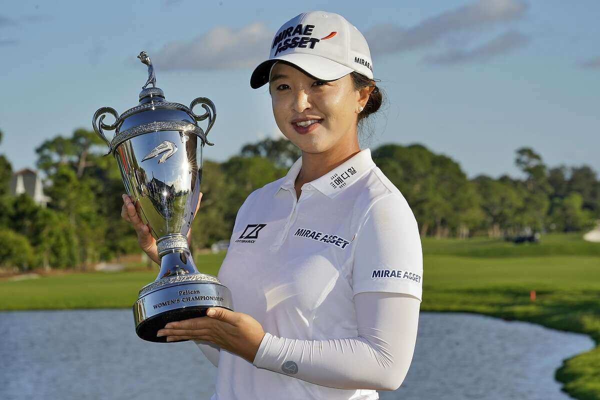 Sei Young Kim, after a five-week layoff, returned to win an LPGA event in Florida.