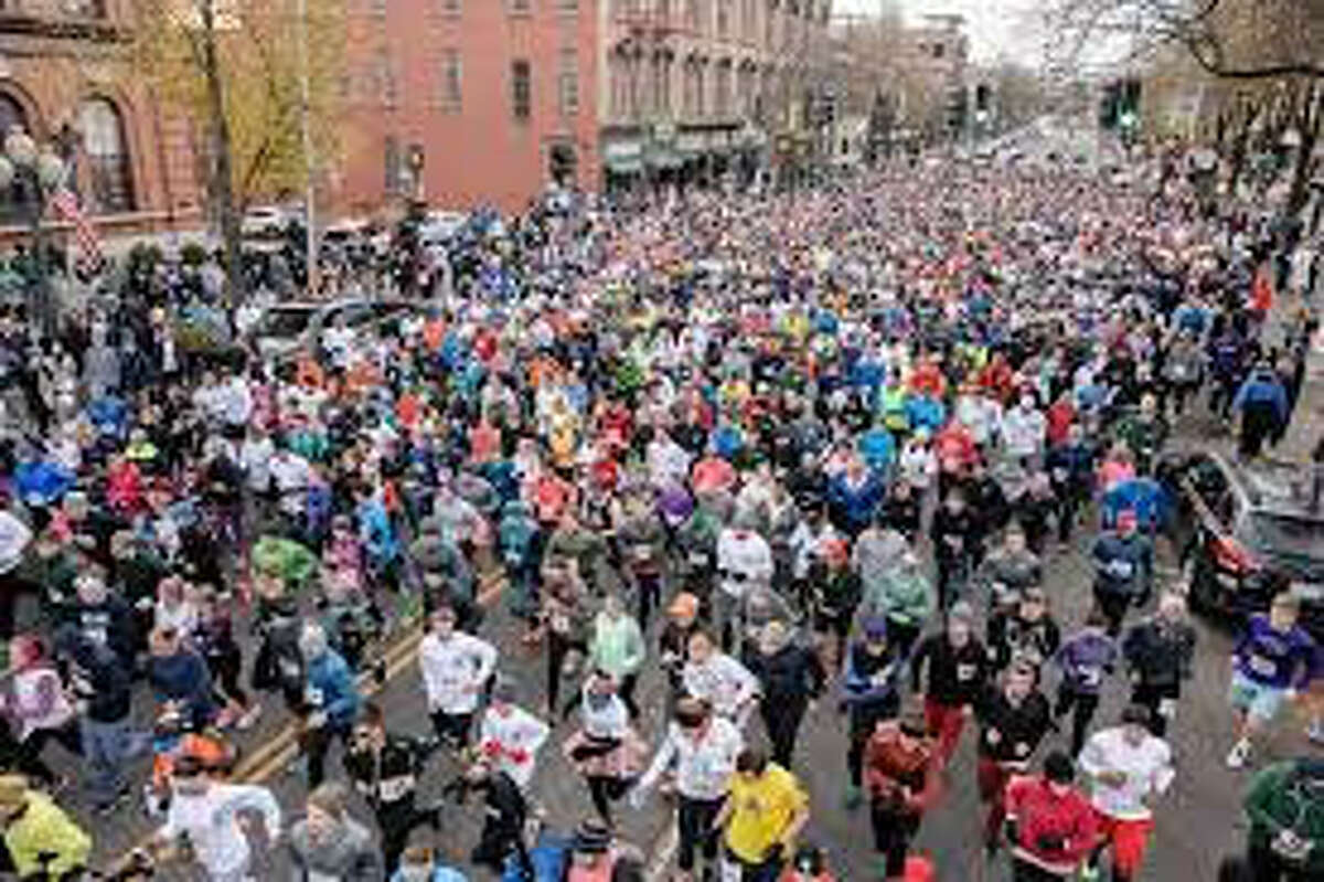 Christopher Dailey Foundation Turkey Trot in Saratoga Springs runs down Broadway and attracts about 3,500 walkers and runners. The 5K will go virtual this year.