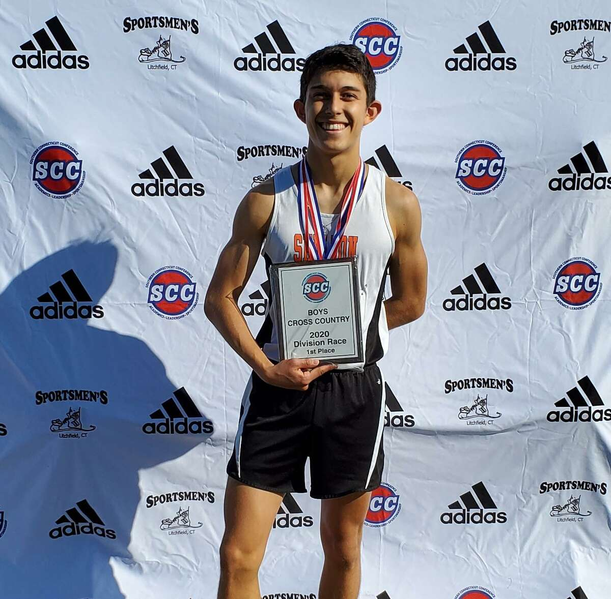 Will Rodrigues placed third at the Southern Connecticut Conference B Division championship meet.