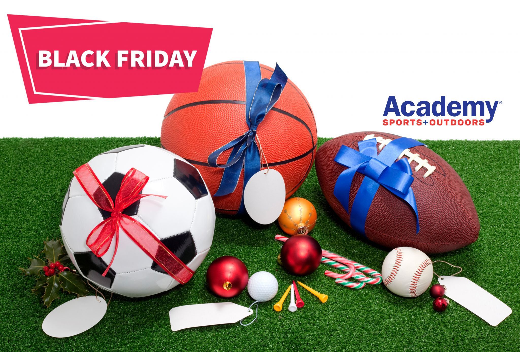Shop the top Black Friday deals at Academy Sports+Outdoors now until November 28.