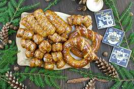 Eastern Standard Provision's Merry & Bright soft pretzel gift box