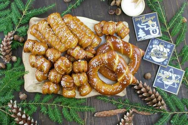 Eastern Standard Provision's Merry & Bright soft pretzel gift box