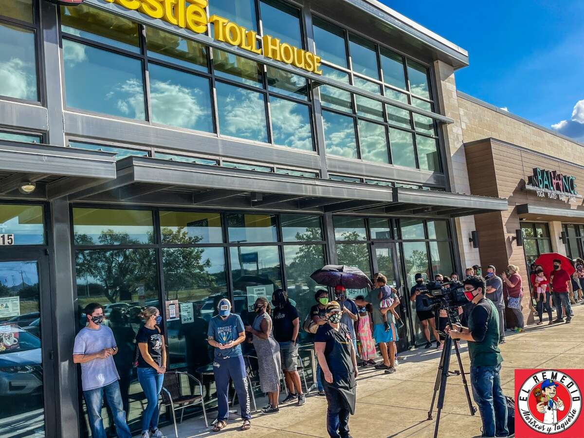 Sherry Ramirez, the owner of the city's only Nestle Toll House Cafe, is thanking San Antonians after they showed by the hundreds to support her struggling business that was on the verge of shutting down.