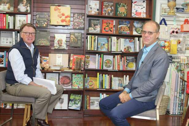 """Robert Doran of NCTV Channel 79 interviews author Jeff Benedict, who looks inside the sustained success of the New England Patriots in his new book, """"The Dynasty."""" Benedict has book signings scheduled in Ridgefield, New Canaan and Darien."""