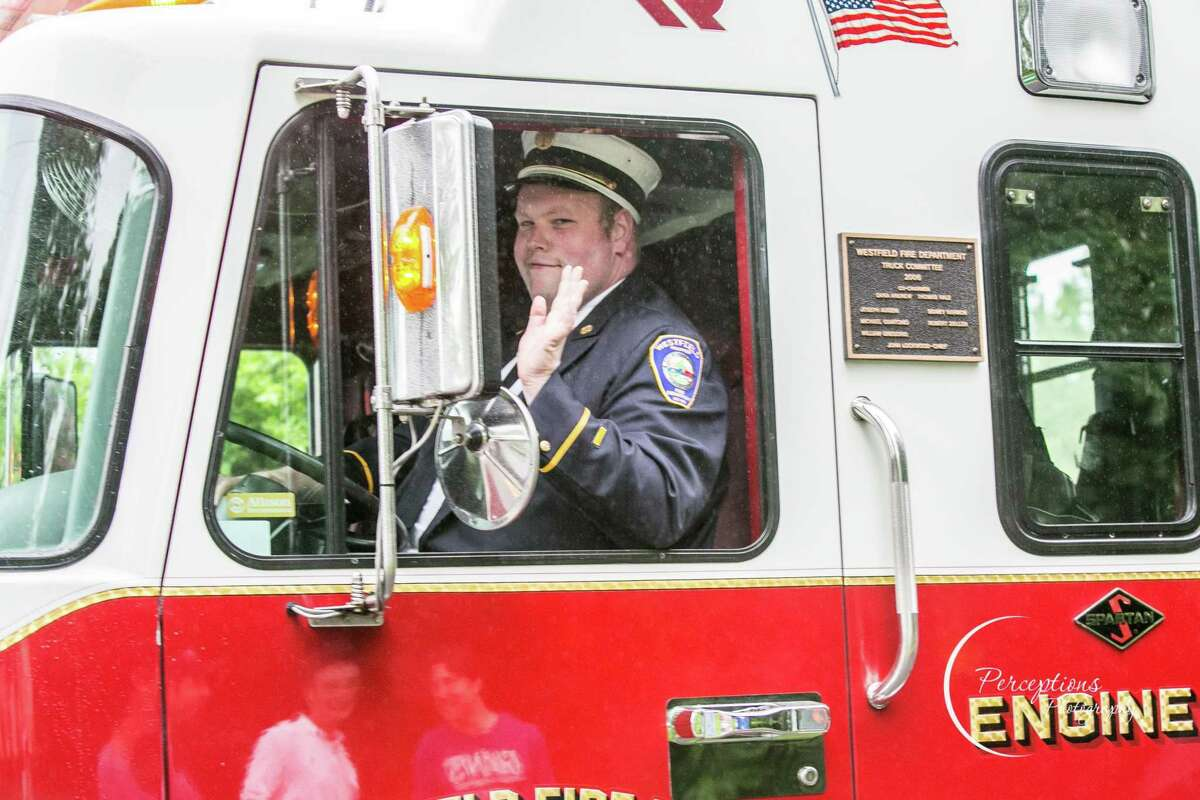 Shown here, the Westfield Fire District marked its 123rd year in Middletown in 2018 with a parade. The Westfield Homeowners Association is concerned about a proposal for the Charter Review Commission to discuss combining them with the downtown station and South Fire.