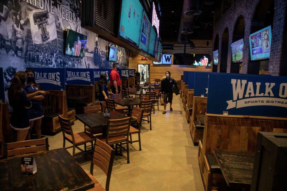 Here's where Midlanders spent the most money on alcohol in February 2021:Walk-On's Sports Bistreaux, 4605 WHITMAN DR.Gross alcohol sales: $243,443