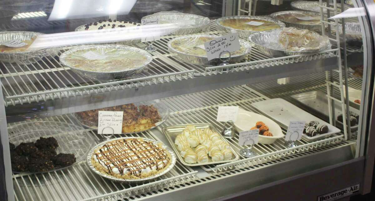 Three Girls Bakery sells a variety of savory and sweet baked goods. For the holidays, the bakery also will be selling some popular Thanksgiving dishes, including apple and pumpkin pie. (Pioneer photo/Catherine Sweeney)
