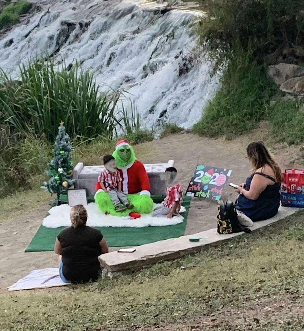 A local Reddit user recently captured a family joining a trendy photoshoot idea that involves having their children take pictures with the popular green character from