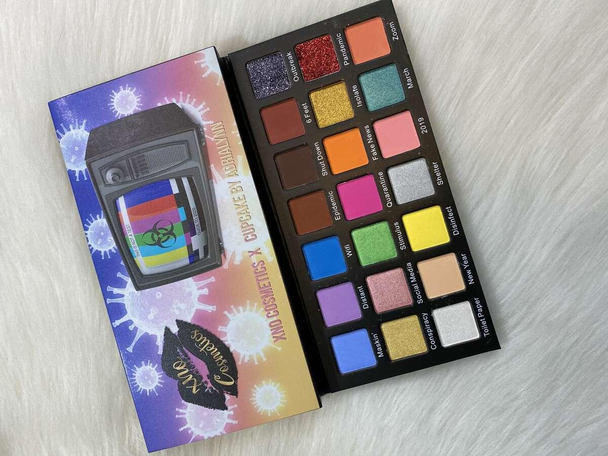 Adrialynn Alvarado, 12, a San Antonio makeup YouTuber has launched her first eyeshadow palette.