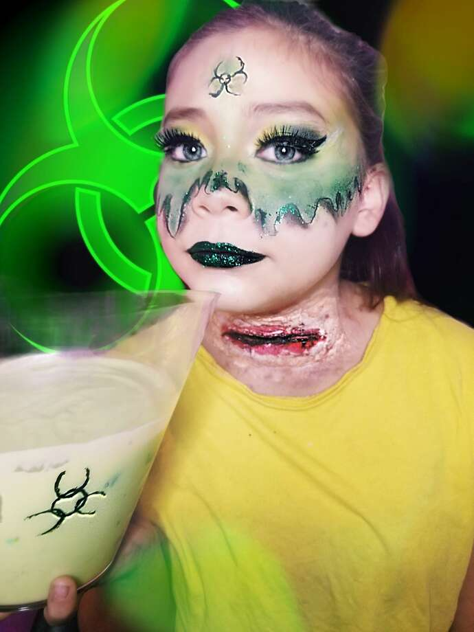 Adrialynn Alvarado, 12, a San Antonio makeup YouTuber has launched her first eyeshadow palette. Photo: Courtesy