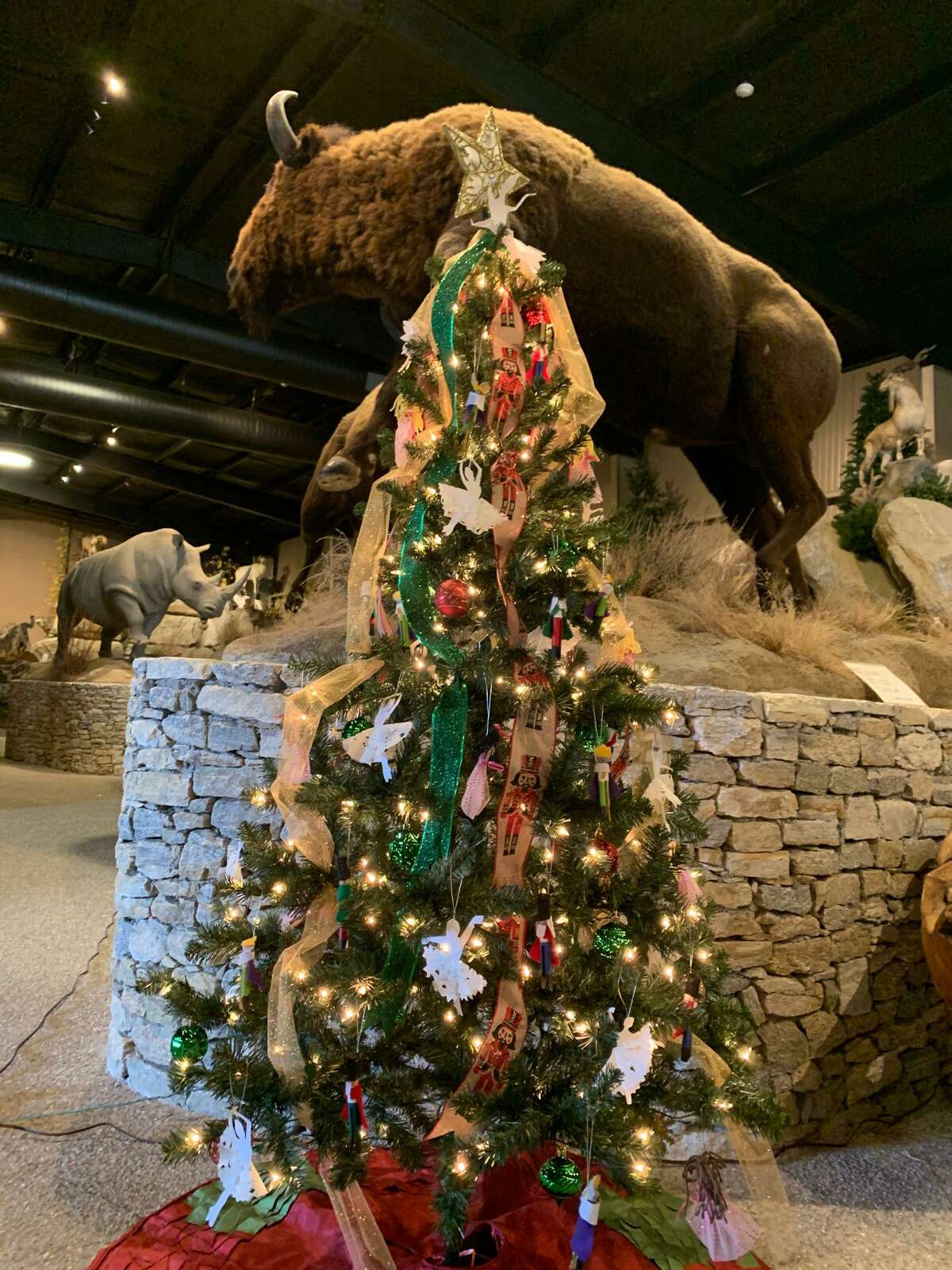 """St. John Paul the Great Academy in Torrington is organizing """"Christmas Is A-Glow,"""" a drive-through display of lights and more, Nov. 27-29 and Dec. 4-6, at Action Wildlife, 337 Torrington Road/Route 4. The event includes a decorated tree display and auction."""