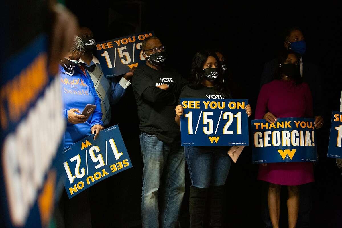 Two Georgia runoffs on Jan. 5 will decide power balance of the U.S. Senate.