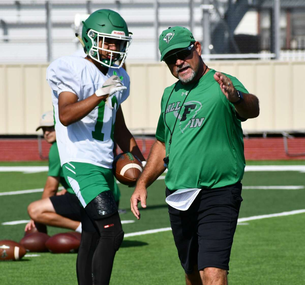Scotty Bruington has resigned as head coach of the Floydada football team after three years leading the Whirlwinds.