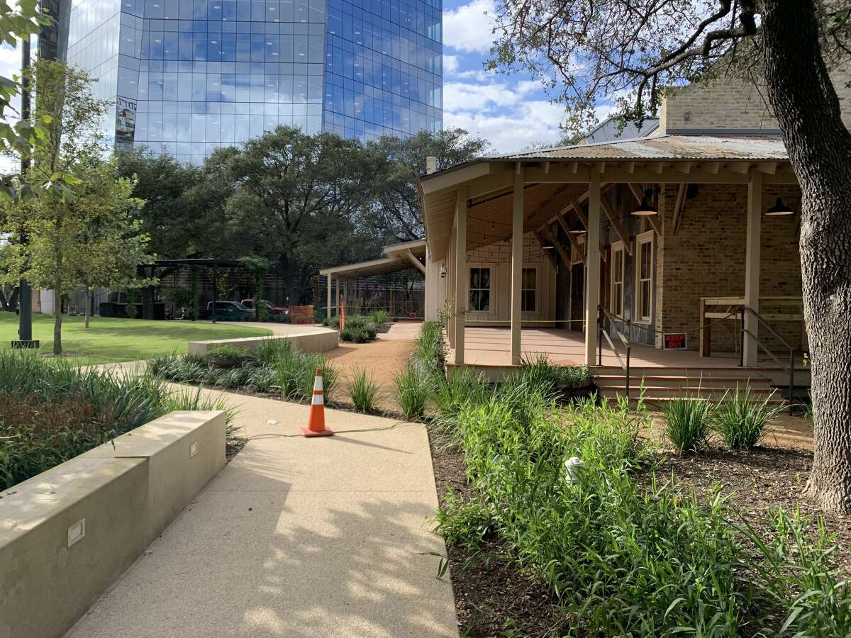 Weston Urban recently unveiled a 1.2-acre park on the west side of downtown San Antonio.