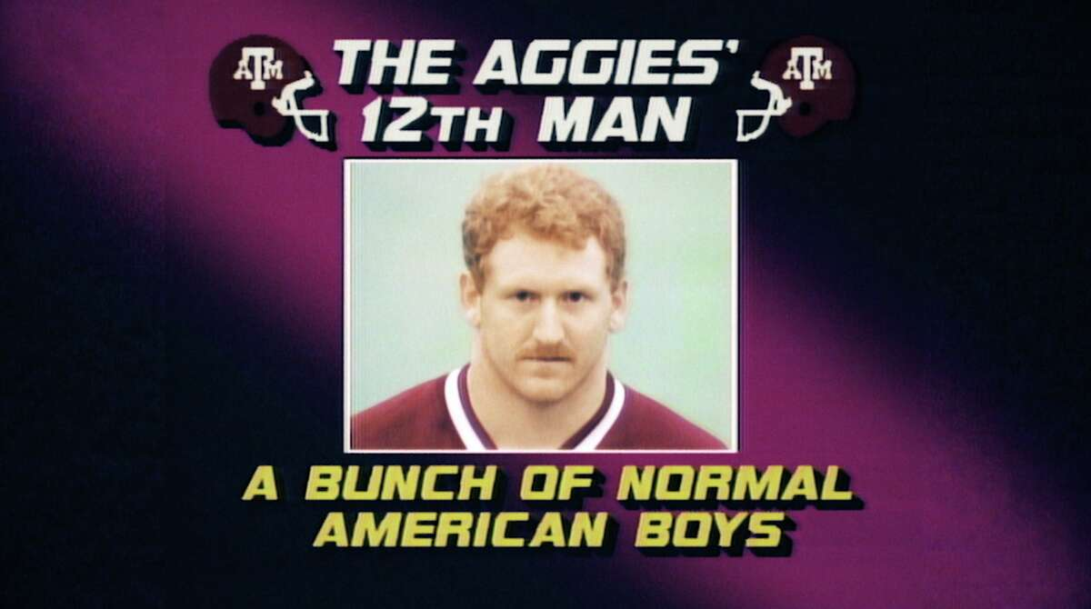 """Texas A&M's 12th Man kickoff coverage unit is the subject of the new ESPN film """"No Experience Required"""" premiering Tuesday night on SEC Network."""
