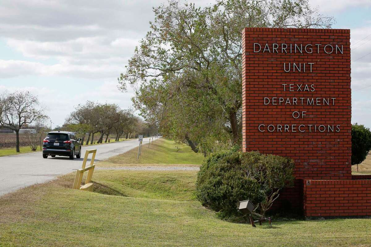 Texas Department of Criminal Justice men's prison, Darrington Unit, Thursday, Nov. 19, 2020, in unincorporated Brazoria County. Houston is redirecting a $4 million contract that was going to go to the TDCJ, which uses unpaid prisoner labor.