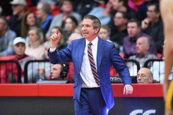 Hartford basketball coach John Gallagher.