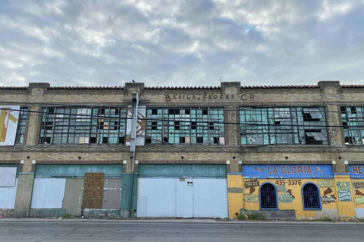 The Basila Frocks building on the West Side was once home to a garment manufacturing facility.