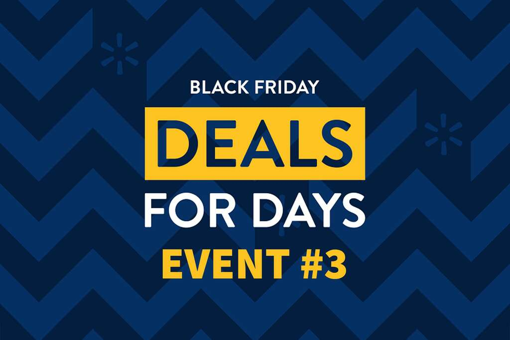 Walmart's final Black Friday event goes live on November 25. See a roundup of their top deals here.