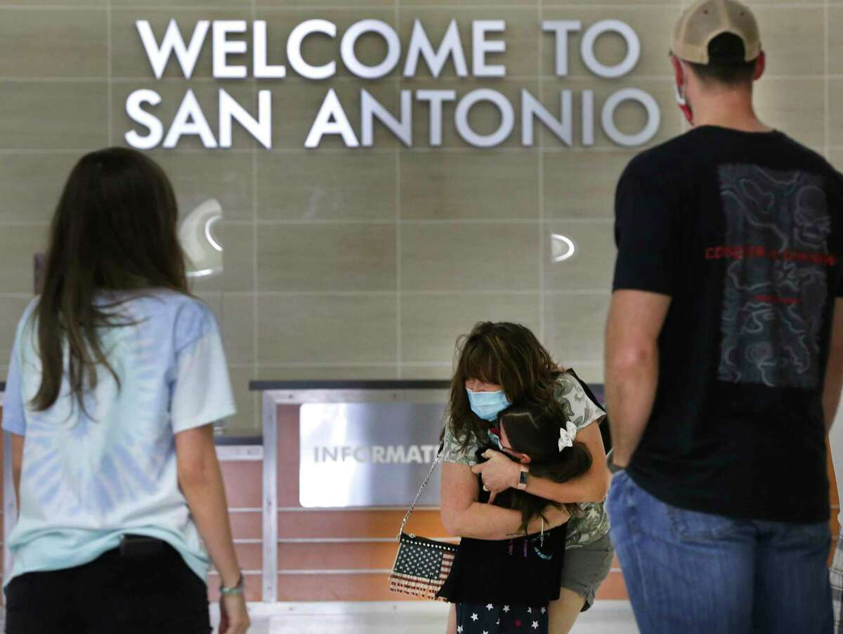 San Antonio International Airport's aviation director, Jesus Saenz Jr., outlined plans to expand the main runway to lure flights to Europe.