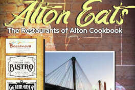 """""""Alton Eats: The Restaurants of Alton Cookbook,"""" featuring seven restaurants, is available to order online at www.downtownalton.com. The cookbook costs $27.50 per copy. Orders must be placed by Monday, Dec. 7."""