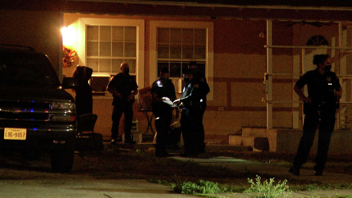 San Antonio police are searching for five men involved in a home invasion near the 2400 block of Cincinnati Avenue Tuesday morning.