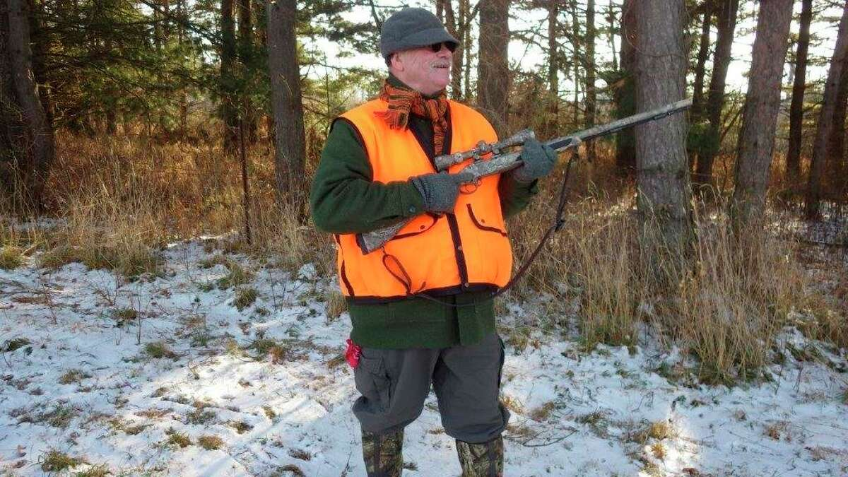 Tom Lounsbury truly appreciates his Traditions Vortek StrikerFirermuzzleloader forhunting whitetails, especially if hemakes sure he has new 209 primers to get the job done. (Photo provided/Tom Lounsbury/Hearst Michigan)
