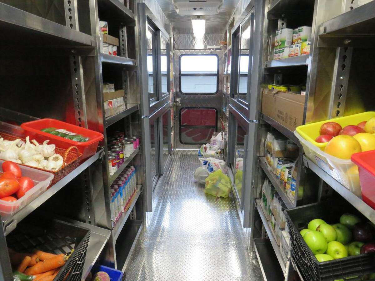 The Darien Youth Commission is holding a drive through food drive for Person-to-Person on Saturday, Dec. 3.