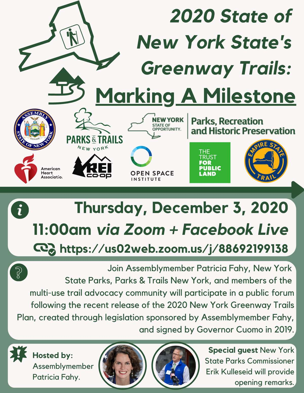 Here is information about the Greenway Trails forum
