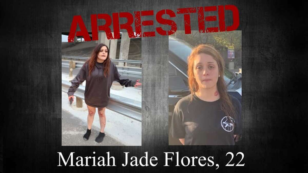 Mariah Flores, 22, was arrested on suspicion of failure to stop and render aid resulting in death in addition to added charges from Monday's traffic stop, including unauthorized use of a vehicle, failure to identify and DWI-2nd offense.