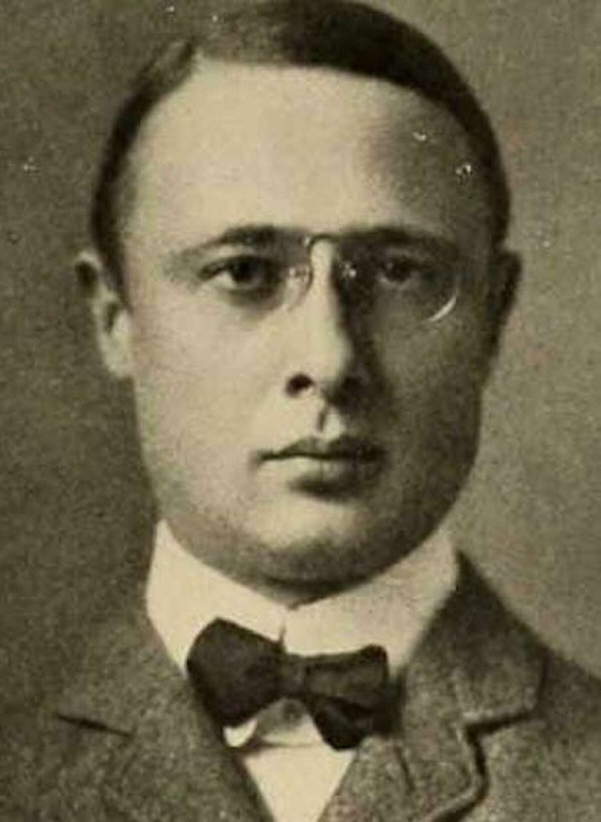 Broken-hearted after his wife died, Philip Wagoner, (pictured), head of Underwood Typewriters, lived mostly in the caretaker's cottage of the Ridgefield mansion he'd built for her.